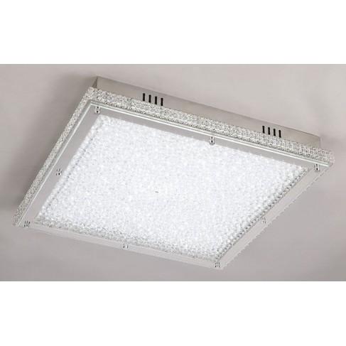 Lámpara Plafón de Techo Cuadrado Crystal Led 30cm