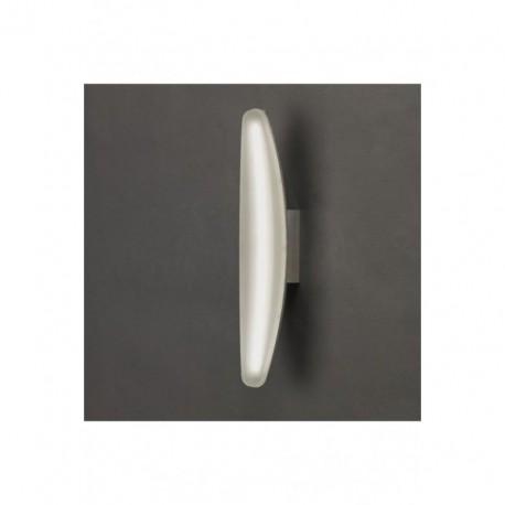 Lámpara Aplique de Pared Hemisferic Aluminio Led