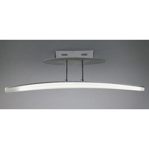 Lámpara Plafón de Techo Hemisferic Aluminio Led