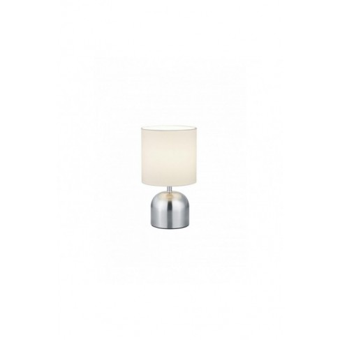 Lámpara Sobremesa táctil Jan Níquel