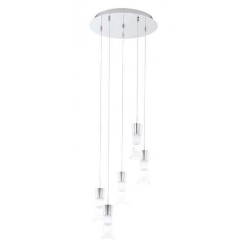 Lámpara Colgante Pancento Cromo 5 Luces