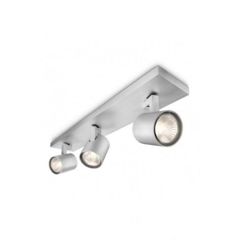 Regleta Focos Runner Aluminio 3 Luces