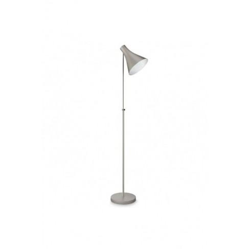 Lámpara de Pie Drin Gris Metálico 1 Luz