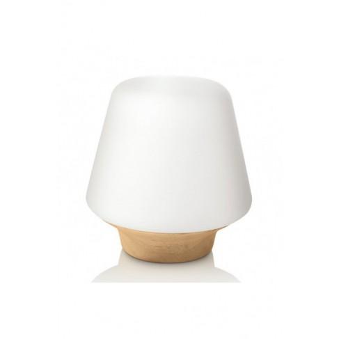 Lámpara Sobremesa Wellness Roble 1 Luz