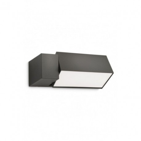 Aplique de Pared Exterior Border Gris Antracita