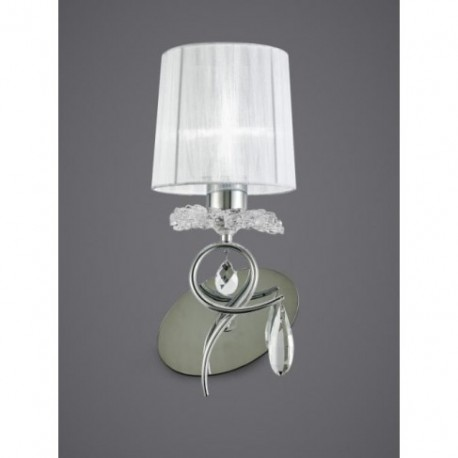 Aplique de Pared Louise 1 Luz Cromo