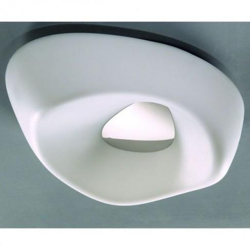 Plafón de Techo IP Pequeño Blanco 4 Luces