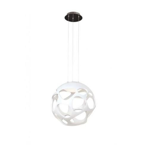 Lámpara Colgante Orgánica Led Blanco 9 Luces