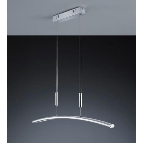 Lámpara Colgante Led Baluga Aluminio cromo