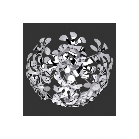 Lámpara Plafón de Techo Splash Cromo-Acrílico 3 Luces