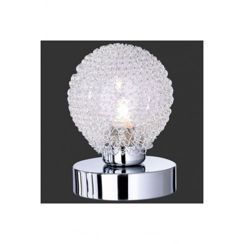 Lámpara Sobremesa Tactil Wire cromo