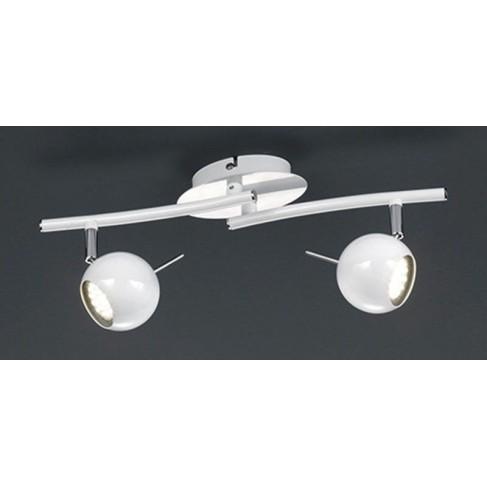 Lámpara Regleta Orb2 Blanca 2 Luces