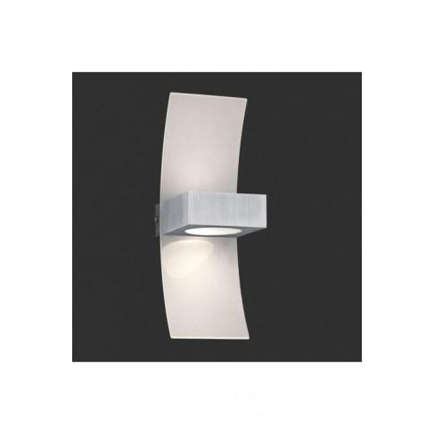 Lámpara Aplique de Pared 1 Luz Aluminio