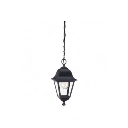 Lámpara Colgante Exterior Lima Negro