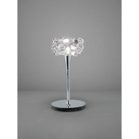 Lámpara de Sobremesa O2 Cromo 1 Luz