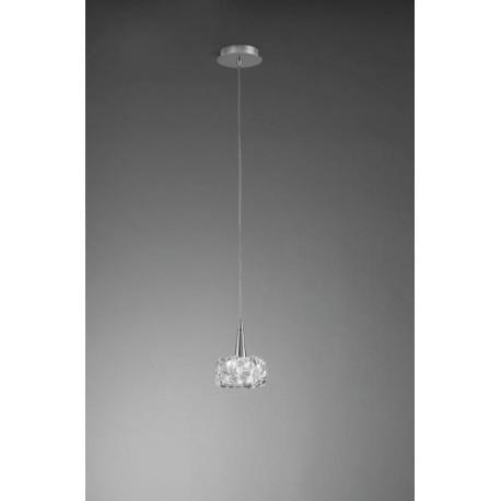 Lámpara Colgante O2 Cromo 1 Luz