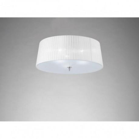Lámpara Plafón de Techo Loewe Cromo 3 Luces