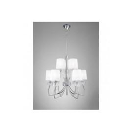 Lámpara Loewe Cromo 9 Luces