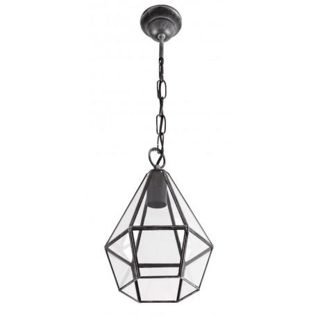 Lámpara Colgante vintage Ecija Plata 1 luz