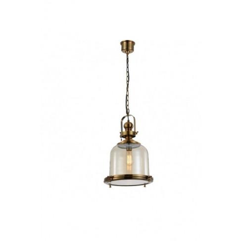 Lámpara Colgante Vintage Bell 33 Cuero