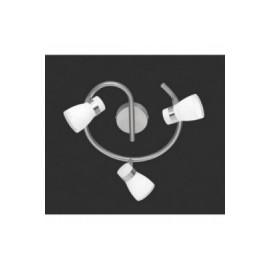 Regleta Focos Sochaux Níquel 3 Luces