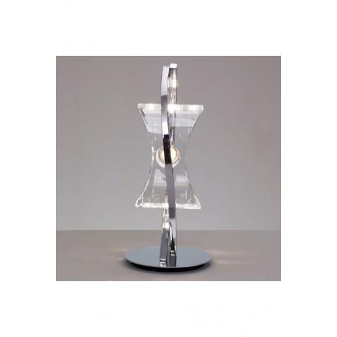 Lámpara de Sobremesa Krom Cromo 1 Luz