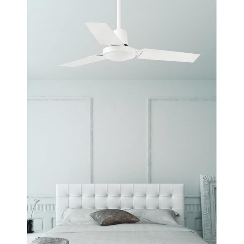 Faro Mini Indus Ventilador de Techo 92cm Blanco 3 Palas