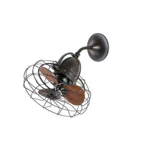 Ventilador de Techo Faro Keiki 45cm Marron 3 Palas