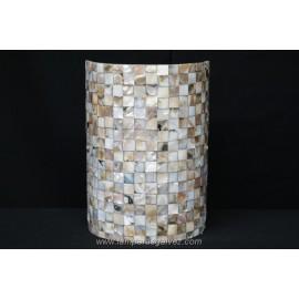 Aplique mosaico oscuro