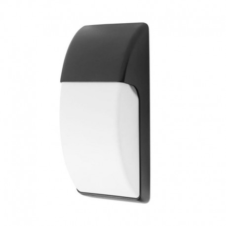Aplique de Pared Exterior For Lights AREA Negro
