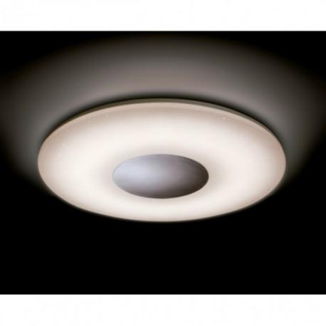 Plafón de Techo LED Mantra Reef Blanco Redondo Luz Regulable con Mando A Distancia 60W
