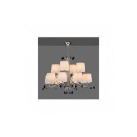 Lámpara Colgante Mantra Andrea Cromo 12 Luces