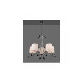 Lámpara Colgante Mantra Andrea Cromo 5 Luces