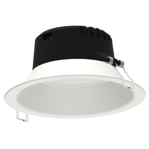 Downlight LED Empotrable Mantra Medano Blanco Redondo Comfort Luz Neutra 21W