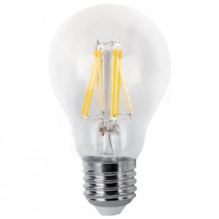 Bombilla LED Decorativa de Filamento 8W 6.400K Luz Blanca E27