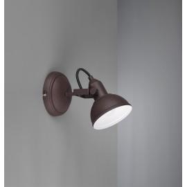 Lámpara Foco Gina Marrón 1 Luz