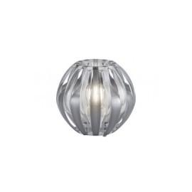 Lámpara de Sobremesa Trio Pumpkin Plata 1 Bombilla E27 20cm