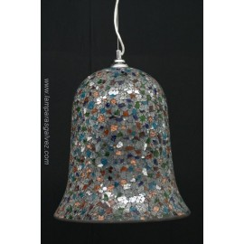 Colgante campana multicolores