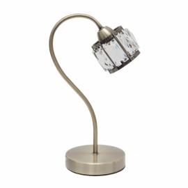 Lámpara de Sobremesa Fabrilamp Esencia Cuero 1 Bombilla G9