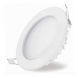 Downlight LED Empotrable Blanco Cúpula 24W Redondo 22,5cm Luz Neutra