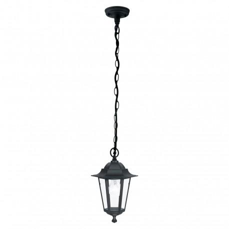Lámpara Colgante para Exterior Eglo Laterna 4 Negro 1 Bombilla E27