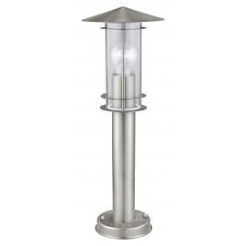Lámpara de Pie para Exterior Eglo Lisio Níquel Mate 1 Bombilla E27 50cm
