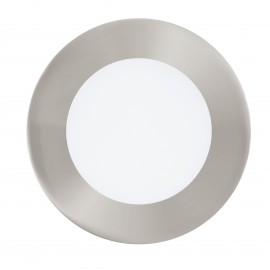 Downlight Empotrable Eglo Connect LED Fueva-C Níquel Mate Luz Regulable 5W