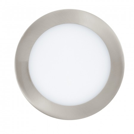 Downlight Empotrable Eglo Connect LED Fueva-C Níquel Mate Luz Regulable 10W
