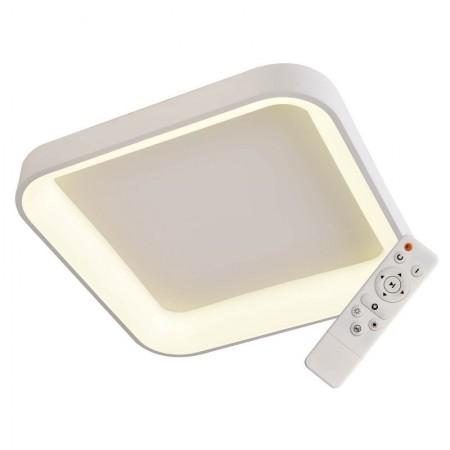 Elegant Plafón cuadrado Blanco 60cm  Led con mando iluminación inteligente circadiana