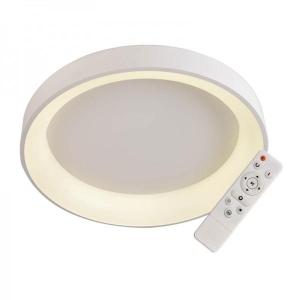Elegant Plafón Redondo Blanco 45cmLed con mando iluminación inteligente circadiana