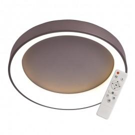Elegant Plafón Redondo Chocolate 60cm Led con mando iluminación inteligente circadiana