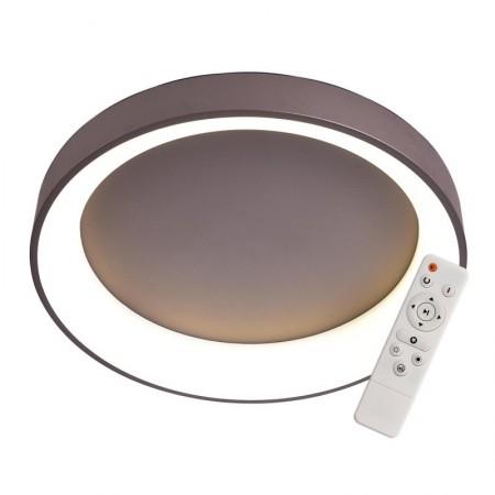 Elegant Plafón Redondo Chocolate 45cm Led con mando iluminación inteligente circadiana