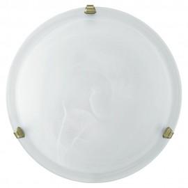 Plafón de Techo Eglo Salome Blanco 2 Bombillas E27 40cm