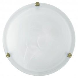 Plafón de Techo Eglo Salome Blanco 1 Bombilla E27 30cm
